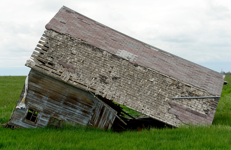 Barn Demolition Walmart U.S. 287 Colo. 66