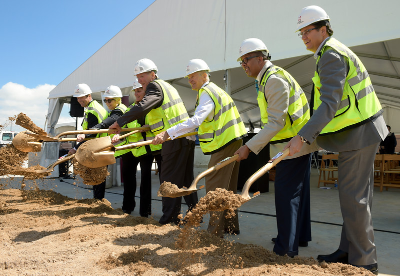HOSPITAL GROUNDBREAKING