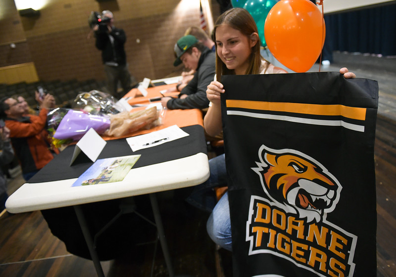MEAD HIGH SCHOOL SIGNING DAY