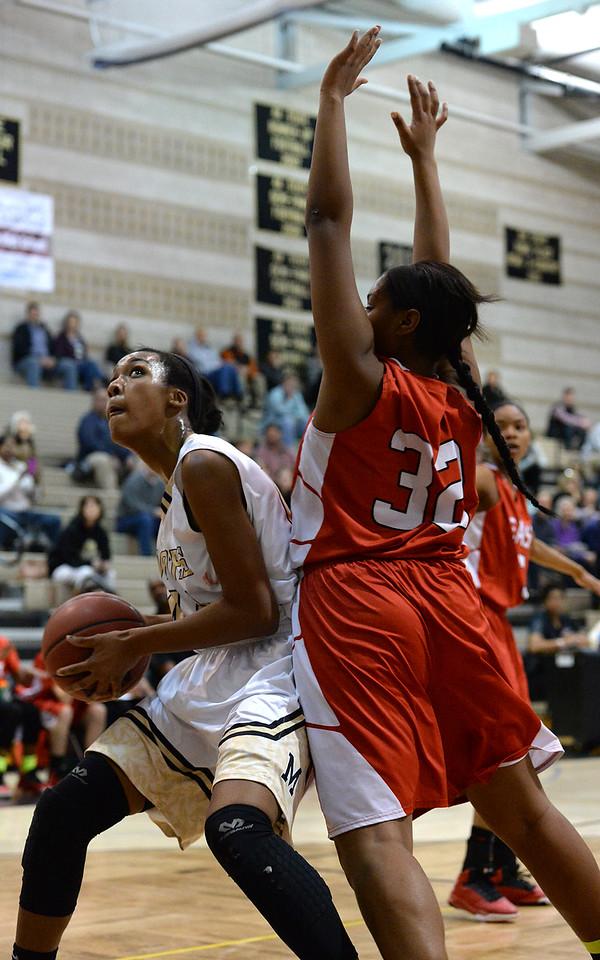Monarch High School vs. Denver West Girls basketball