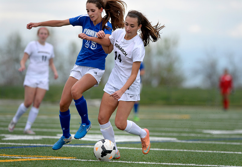 Monarch vs. Fruita Girls soccer