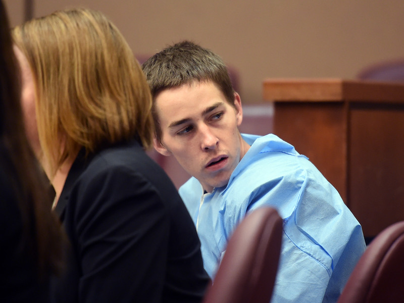 Garrett Coughlin in Court
