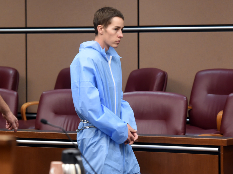 Garrett Coughlin in Court