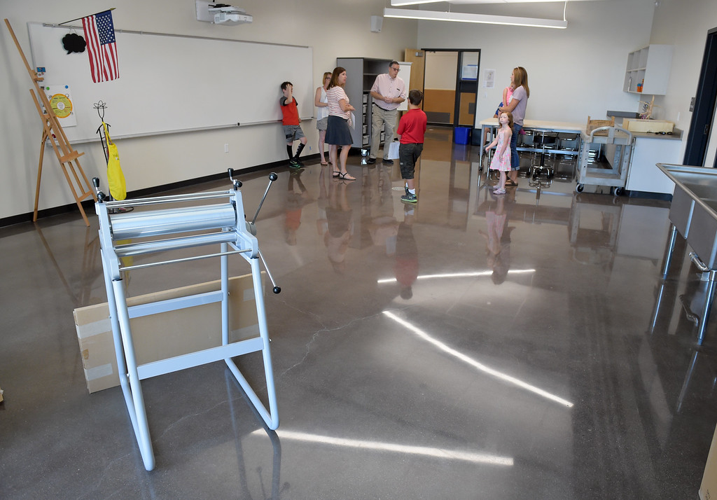. The art room at Grand View Elementary School, 6601 Aggregate Blvd., Frederick, Tuesday. To view more photos visit timescall.com. Lewis Geyer/Staff Photographer July 10, 2018