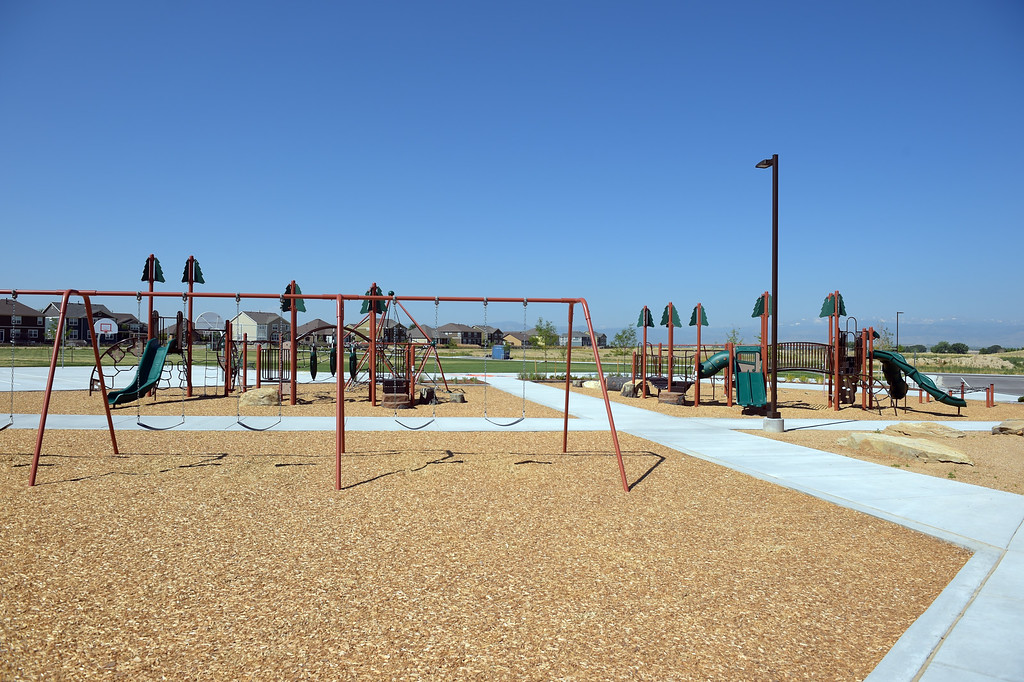 . The playground at Grand View Elementary School, 6601 Aggregate Blvd., Frederick, Tuesday. To view more photos visit timescall.com. Lewis Geyer/Staff Photographer July 10, 2018