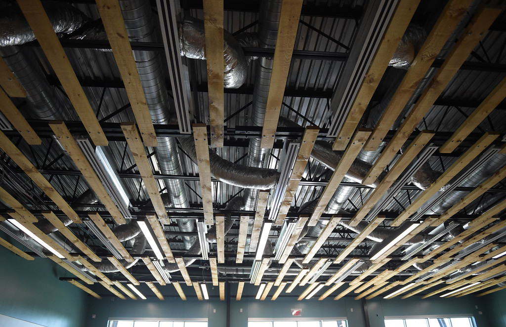 . Open ceilings are a feature throughout many different rooms at Grand View Elementary School, 6601 Aggregate Blvd., Frederick. To view more photos visit timescall.com. Lewis Geyer/Staff Photographer July 10, 2018