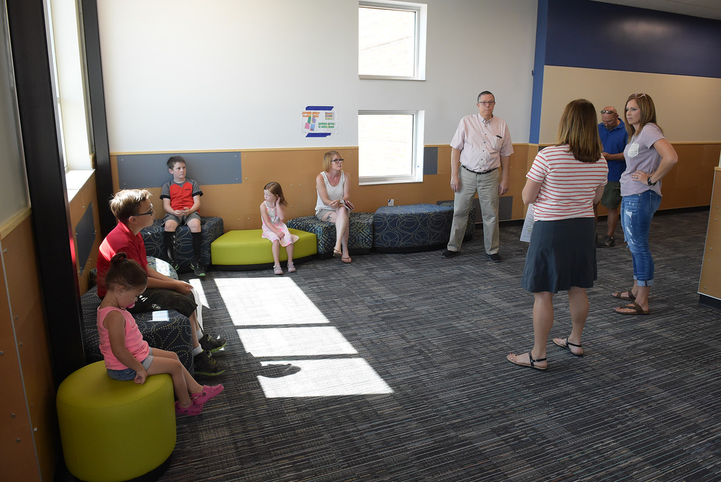 . The fifth grade breakout area at Grand View Elementary School, 6601 Aggregate Blvd., Frederick, Tuesday. To view more photos visit timescall.com. Lewis Geyer/Staff Photographer July 10, 2018