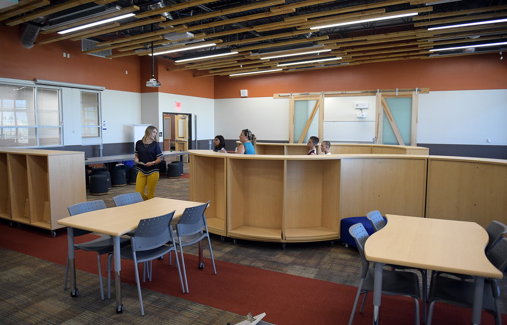 . The learning commons at Grand View Elementary School, 6601 Aggregate Blvd., Frederick, Tuesday. To view more photos visit timescall.com. Lewis Geyer/Staff Photographer July 10, 2018