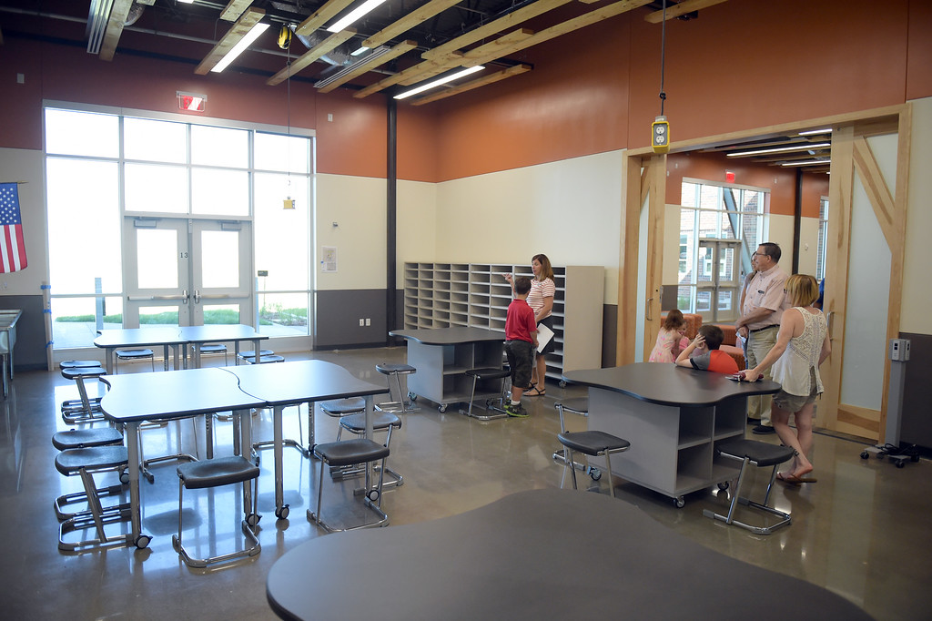 . The maker space at Grand View Elementary School, 6601 Aggregate Blvd., Frederick, Tuesday. To view more photos visit timescall.com. Lewis Geyer/Staff Photographer July 10, 2018