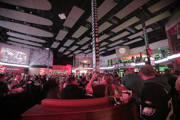 Eagles Game @ Xfinity Live 11/26/2012