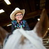 """Tait Miller, 10, pets her pony, Reba, after completing a trail class during the POA Futurity and Open Horse Show at the Boulder County Fairgrounds in Longmont on Sunday. <br /> More photos:  <a href=""""http://www.dailycamera.com"""">http://www.dailycamera.com</a><br /> (Autumn Parry/Staff Photographer)<br /> August 28, 2016"""