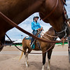 """Katelyn Matthies, 13, waits with her horse, Heyoka, during a break from the POA Futurity and Open Horse Show at the Boulder County Fairgrounds in Longmont on Sunday.<br /> More photos:  <a href=""""http://www.dailycamera.com"""">http://www.dailycamera.com</a><br /> (Autumn Parry/Staff Photographer)<br /> August 28, 2016"""