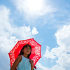 "Gaby Garcia, 9, shades herself from the sun with her umbrella during the Peruvian Festival held at Sandstone Ranch Park in Longmont on Sunday.<br /> More photos:  <a href=""http://www.dailycamera.com"">http://www.dailycamera.com</a><br /> (Autumn Parry/Staff Photographer)<br /> July 24, 2016"