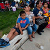"Jacquelin Marroquin sits with her son Miguel Marroquin, 6, as they watch dancers perform during the Peruvian Festival at Sandstone Ranch Park in Longmont on Sunday.<br /> More photos:  <a href=""http://www.dailycamera.com"">http://www.dailycamera.com</a><br /> (Autumn Parry/Staff Photographer)<br /> July 24, 2016"