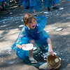 """Clare Gaddis, 8, participates in a pie fight in Longmont on Saturday. The Twin Peaks Rotary Club held a pie fight to raise money for St. Vrain Valley School District Rotary Youth Programs.  <br /> More photos:  <a href=""""http://www.dailycamera.com"""">http://www.dailycamera.com</a><br /> (Autumn Parry/Staff Photographer)<br /> August 27, 2016"""