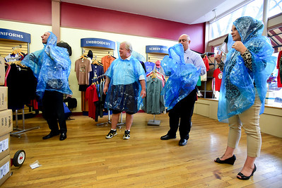 Photos: Ponchos for Throw Down at Pie Noon Fundraiser