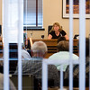 "Boulder County Commissioner Cindy Domenico listens to residents' feedback during a public hearing about extending collections of a sales and use tax which would help fund open space acquisition and sustainability programs, at the Boulder County Courthouse on Thursday. <br /> More photos:  <a href=""http://www.dailycamera.com"">http://www.dailycamera.com</a><br /> (Autumn Parry/Staff Photographer)<br /> July 28, 2016"