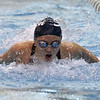Shenendehowa sophomore Shannon Waryncia bomes out of the water during the final heat of the 100-yard butterfly event Saturday at the Sectoin 2 Division I finals.