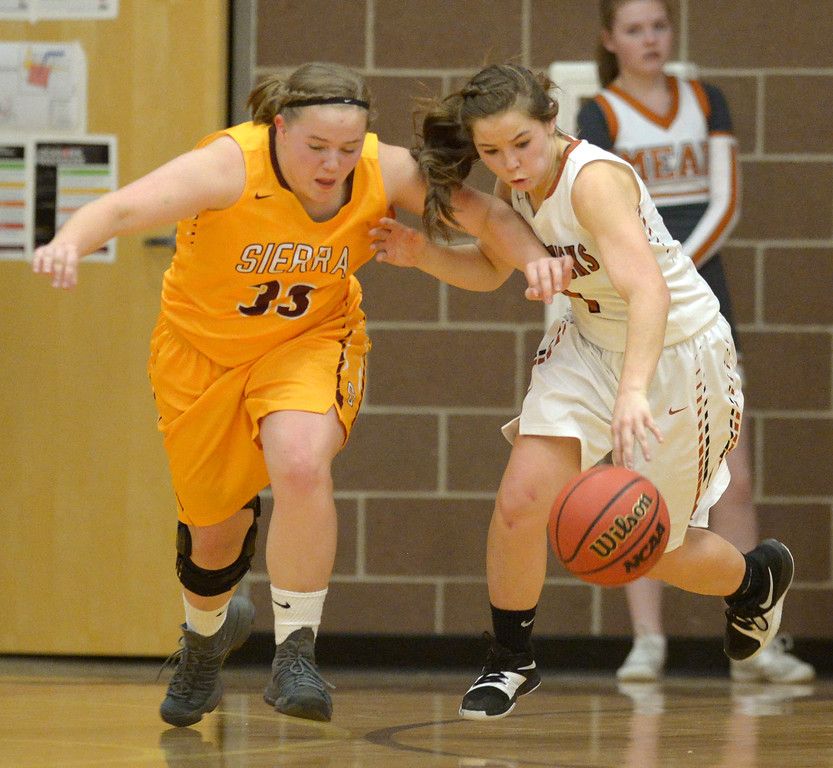 MEAD HIGH SCHOOL GIRLS PLAYOFF BASKETBALL