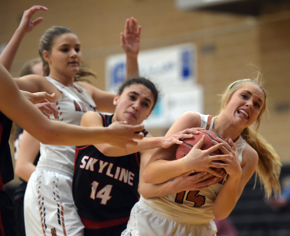SKYLINE AT MEAD GIRLS BASKETBALL