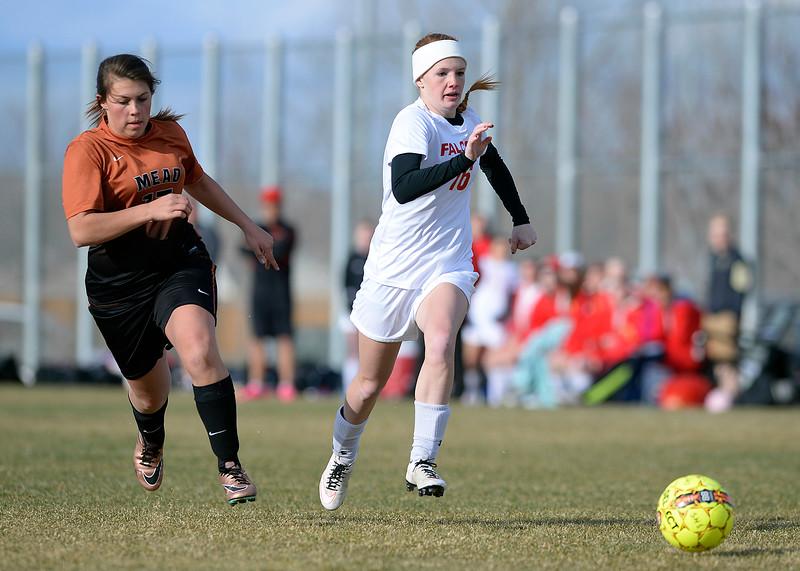 Skyline vs Mead girls soccer