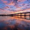November 26, 2016 Sunrise over New Smyrna  Beach South Causeway
