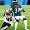 Eagles Patriots Super Bowl Football