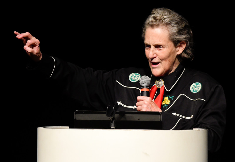 Longmont Temple Grandin Speech