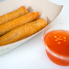 "Lumpia, a filipino egg roll, which includes ground pork and season vegetables with a side of sweet chili garlic sauce, is served by The Ginger Pig food truck at the new Rayback Collective food truck court in Boulder on Thursday. <br /> More photos:  <a href=""http://www.dailycamera.com"">http://www.dailycamera.com</a><br /> (Autumn Parry/Staff Photographer)<br /> July 28, 2016"