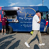 "Patrick Walsh (left) orders food from The Ginger Pig food truck at the new Rayback Collective food truck court in Boulder on Thursday. <br /> More photos:  <a href=""http://www.dailycamera.com"">http://www.dailycamera.com</a><br /> (Autumn Parry/Staff Photographer)<br /> July 28, 2016"