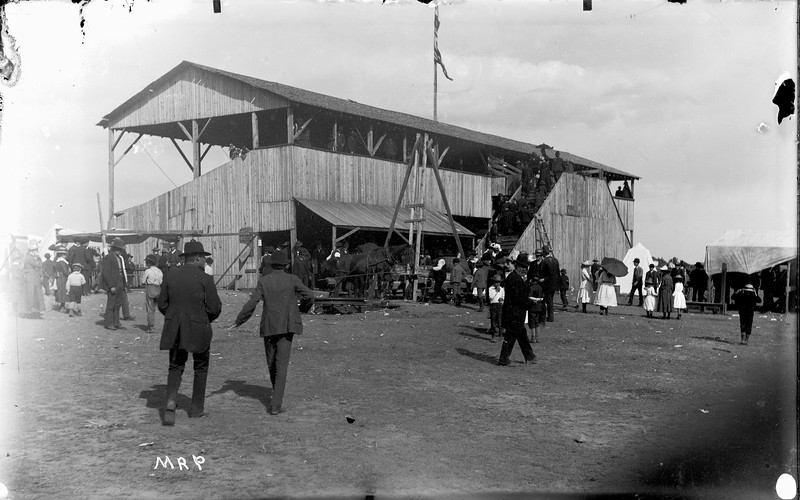 Boulder County Fairgrounds on 28th Street 1890-1900 Boulder Historical Society photos