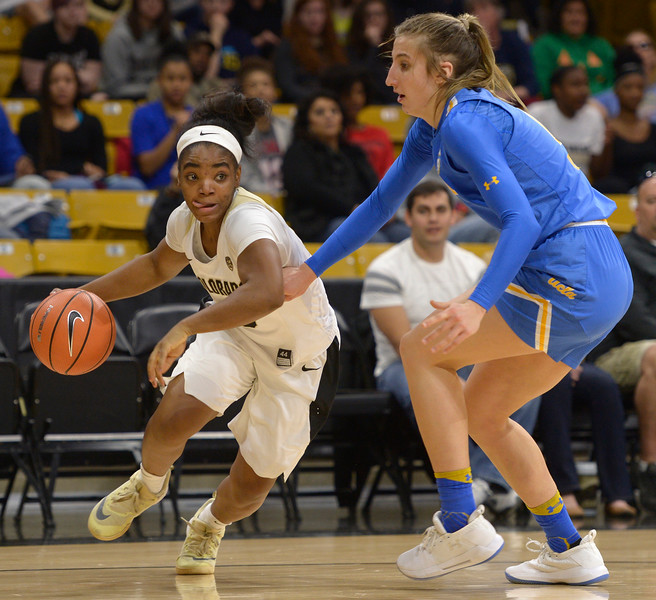 UCLA AT CU WOMEN'S BASKETBALL