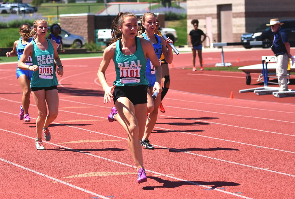 . R.E.A.L. Training\'s 400-meter relay team looks to qualify for nationals during the USATF Region 10 Championships on Saturday at Legacy Stadium in Aurora.