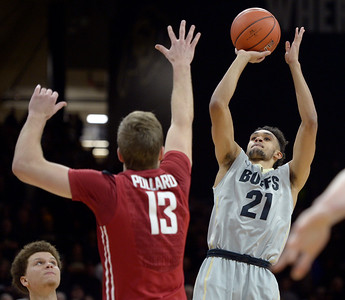 Photos: Washington State at CU mens basketball