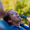 "Elinor Mayer-Tzang, with the Mosaic Gospel Choir, sings during the dedication of the mural by Anthony Alvarez at the Wesley Foundation/Chapel in Boulder on Sunday.  The mural features heroes of faith and social justice, including John Wesley, Mahatma Ghandi, Martin Luther King, Dalai Lama and Desmond Tutu, among others. <br /> More photos:  <a href=""http://www.dailycamera.com"">http://www.dailycamera.com</a><br /> (Autumn Parry/Staff Photographer)<br /> October 23, 2016"