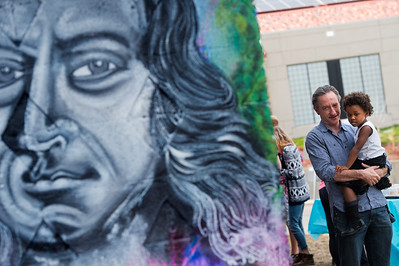 Photos: Wesley Foundation/Chapel Dedicates New Mural