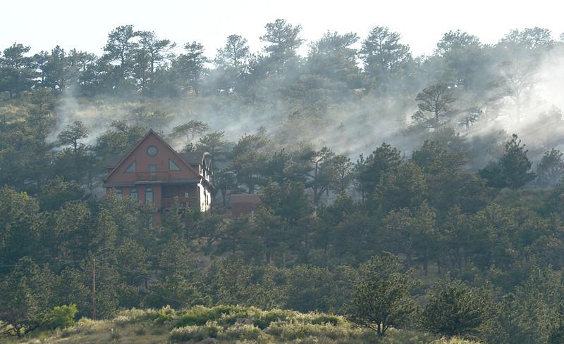 LYONS WILDLAND FIRE