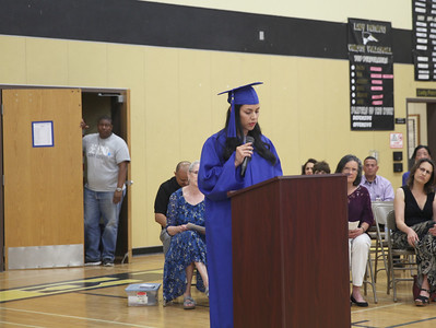 CINTIA LOPEZ - DAILY DEMOCRAT The Woodland Adult School graduation ceremony featured several student speakers.