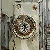 88  Old glass doorknob