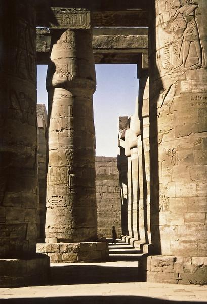87  Hypostyle, Karnak, Egypt, 10 April 1967