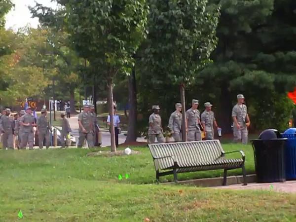 University of Maryland ROTC Students