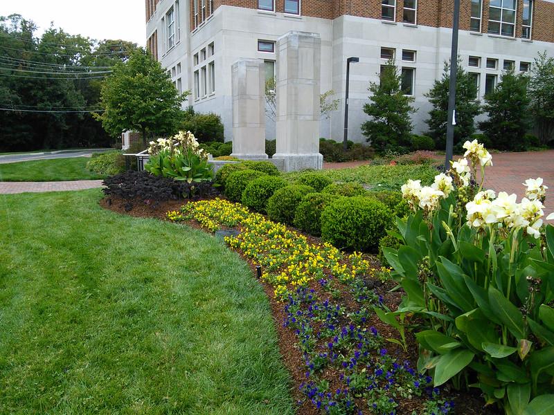 Van Munching Hall Clock Tower Landscape Plantings
