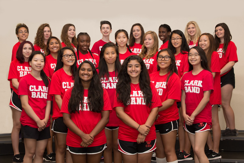 08/09/2016 - CHS Band Section Pictures - Color Guard