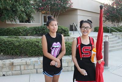 8/8/2016 - CHS Band Camp Spirit Week - Crazy Day