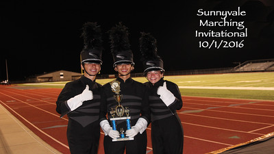 10/1/2016 - Sunnyvale Marching Invitational