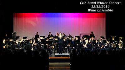 16 1216 CHS Wind Ensemble Winter Concert
