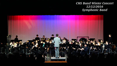 16 1216 CHS Symphonic Band Winter Concert