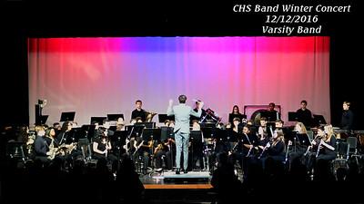16 1216 CHS Varsity Band Winter Concert