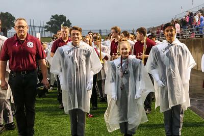 McKinney Game - Welcome Alumni !!  Not welcome -- more rain! 10/12/18