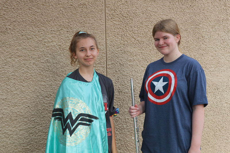 Band Camp - Week 2 Super Hero Day